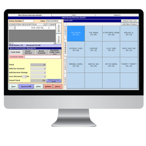 Weltraum PMS Hotel Software Housekeeping Screen